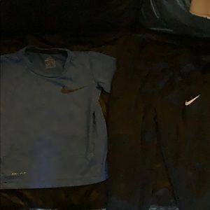 Boys Nike Dri- fit outfit!